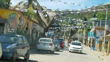 Road in Manzunte