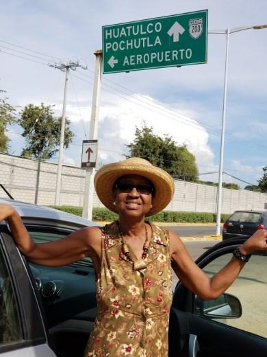 Near airport in Puerto Escondido