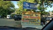 Signage near Play Angelito