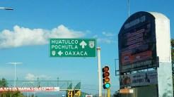 Signage to Oaxaca