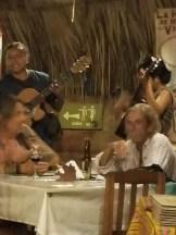 Band at restaurant El Mare