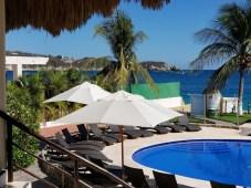Looking down at the pool, Quinta Bella