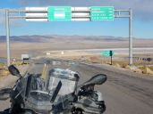 Grenze Argentinien zu Chile 4.300m über dem Meer