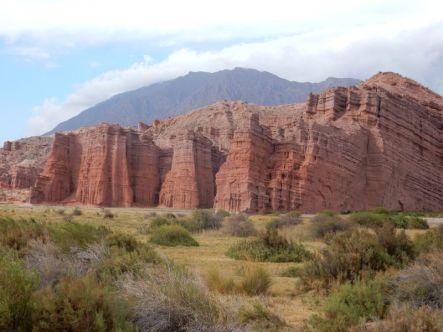 Quebrada de las Conchas Auf dem Weg von Salta nach Cafayate