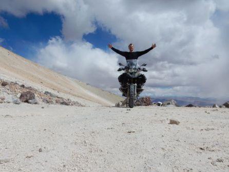 5.850m - Höchster anfahrbarer Punkt der Welt => Geschafft!!!