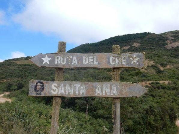 """""""Rute del Che"""" nach La Higuerra"""