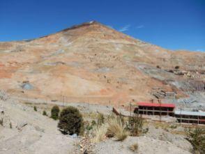 Monte Cerro, der Silberberg