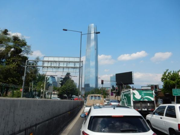 Grane Torre, das Costanera Center
