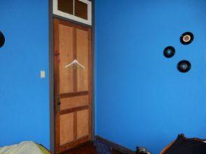 Schlafzimmer in der Villa Kunterbunt