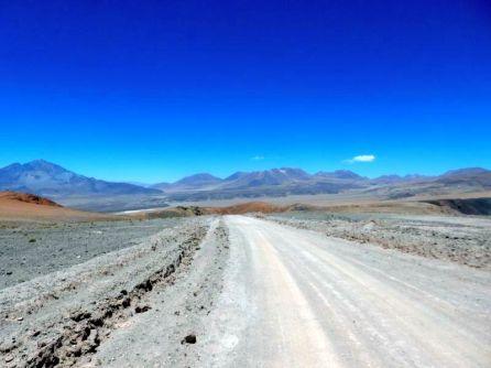Durch den Salar de Atacama