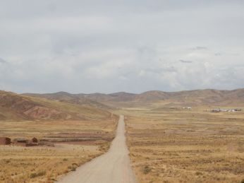 Straße nach Caquiaviri
