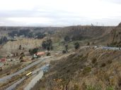 Die Häuser von El Alto gehen bis zum Rand