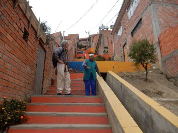 Von El Alto nach La Paz.