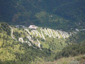 Col de Tende, die alte Auffahrt zum Pass