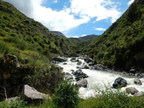 Am oberen Ende des Cotahuasi Canyon