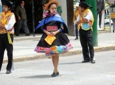Huancayo, Konzentration vor dem Auftritt