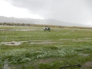 Eigentlich wollte ich mir die Inka Ruine bei La Union ansehen - nach dem Unwetter habe ich dann drauf verzichtet