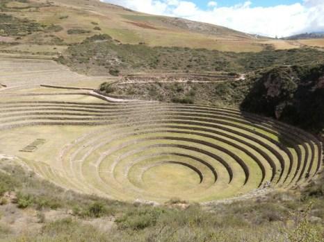 Moray bei Marras - historische Terrassengärten zu Studienzwecken