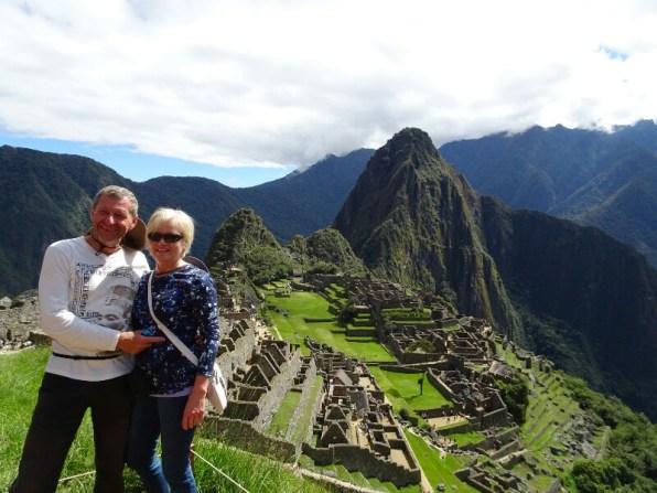 Machu Picchu, ein Silberstreif und wir