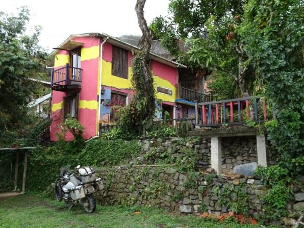 Freundschaftliche Aufnahme in der Villa Bonita - Giani der Besitzer ist Schweizer