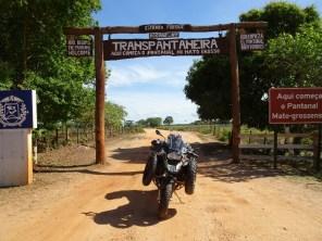 Auf der Transpantaneira - vom Pantanal nach Pocone