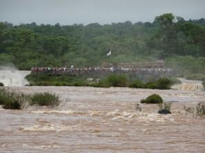 Iguazu - Blick auf die argentinische Seite