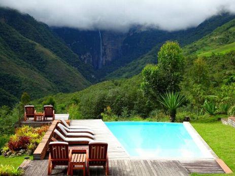 Gocta Wasserfall in Cocachima