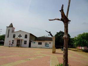 Mahnmal für das Ende der Sklaverei in San Basilio de Palenque