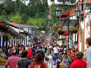 Salento - wenn in Kolumbien Feiertag ist ...