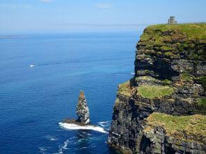 Das wohl meistfotographierte Bild der Cliffs von Moher