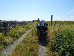 Am Ende des Weges bei Doolin