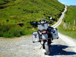 Die Kupferstraße auf dem Weg nach Ballydonegan