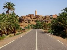 Straße nach Zagora