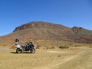 Rand zur Sahara bei Zagora