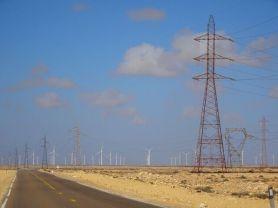 Riesiger Windpark in der West Sahara