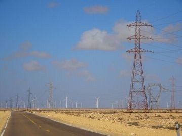 Riesiger Windpark in der West Sahara