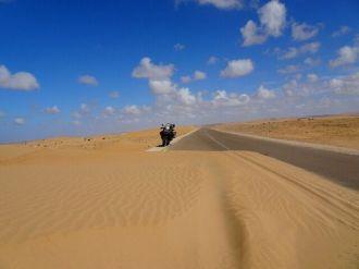 Straße nach Al Aaiun (Laayoune)