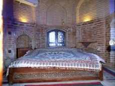 Schlafen im Weltkulturerbe - Koupha Caravanserai in Kuhpayeh