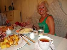 Abendessen in Kutaissi