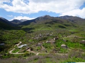 An der aserbaidschanischen Grenze