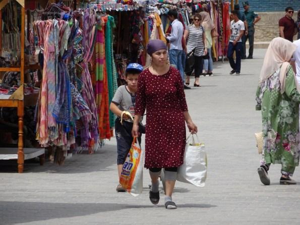 Am Markt in Khiva