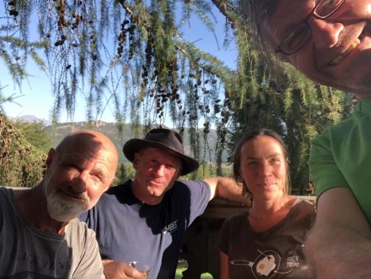 Bei Peter in El Bolson, Zusammentreffen mit Eva und Willi