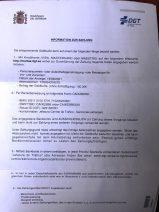 Strafmandat aus Spanien
