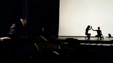 Hybriden – Musik zwischen Ost und West, Philip Glass – Mad Rush, Toni Ming Geiger, Silvia Ehnis, Yunjin Song © Charlotte Triebus