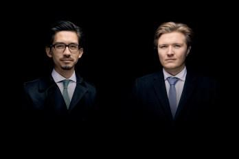 Matthias Hoffmann & Toni Ming Geiger, Foto Sebastian Wagner