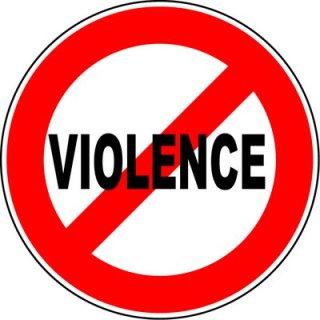 NO VIOLENCE weird story