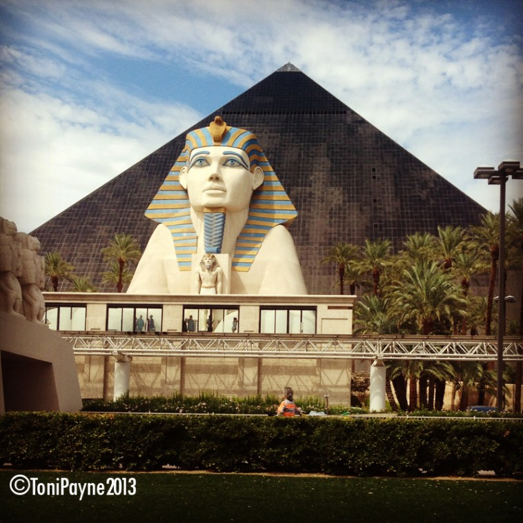 "The ""Sphinx and the Pyramid"" Photography by Toni Payne"