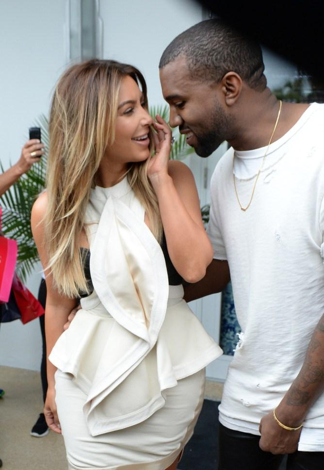 Kim Kardashian And Kanye West Go Black Friday Shopping