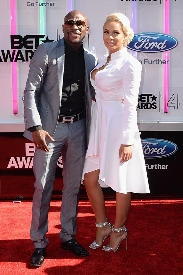 1 2014 bet red carpet floyd mayweather