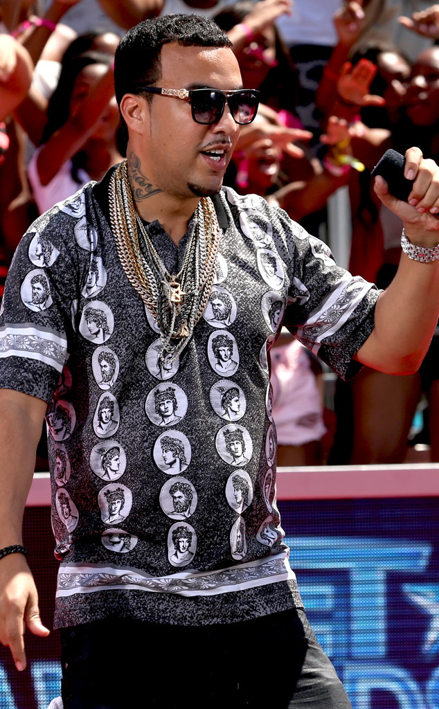 2014 bet red carpet french montana
